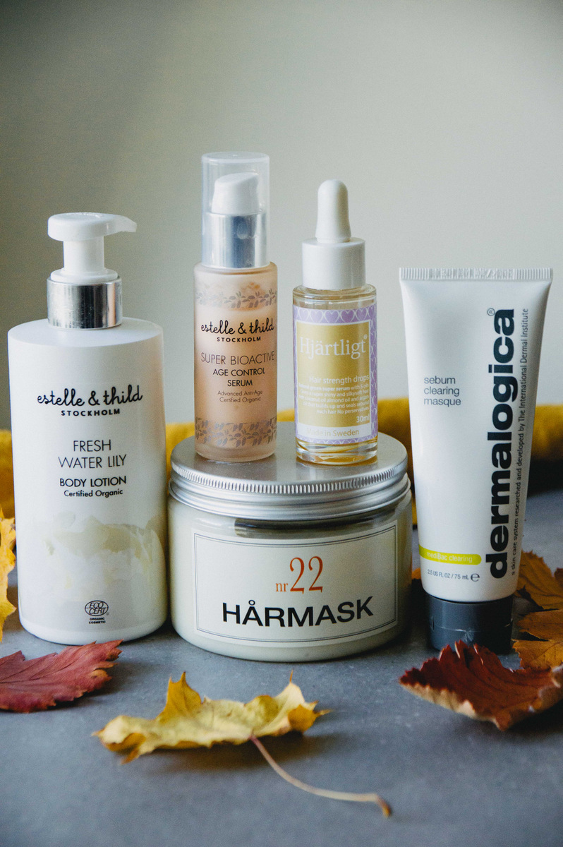 Autumn beauty | organic & vegan skincare | The Nordic Kitchen