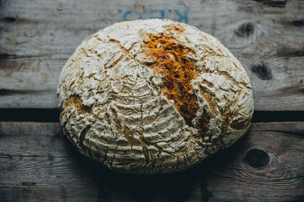 No-knead everyday bread: long rise for maximum flavor