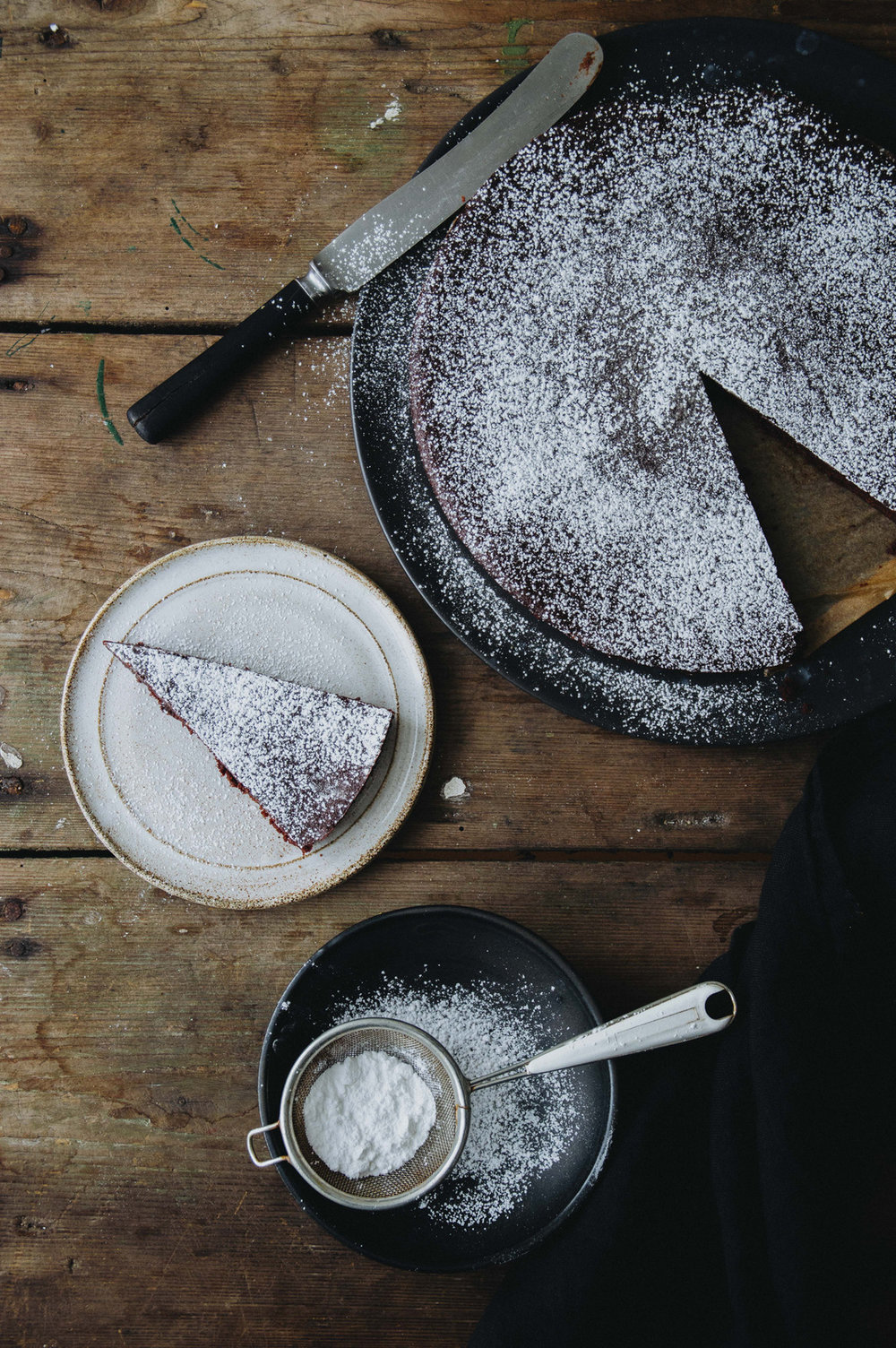 Kladdkaka - Swedish Sticky Chocolate Cake