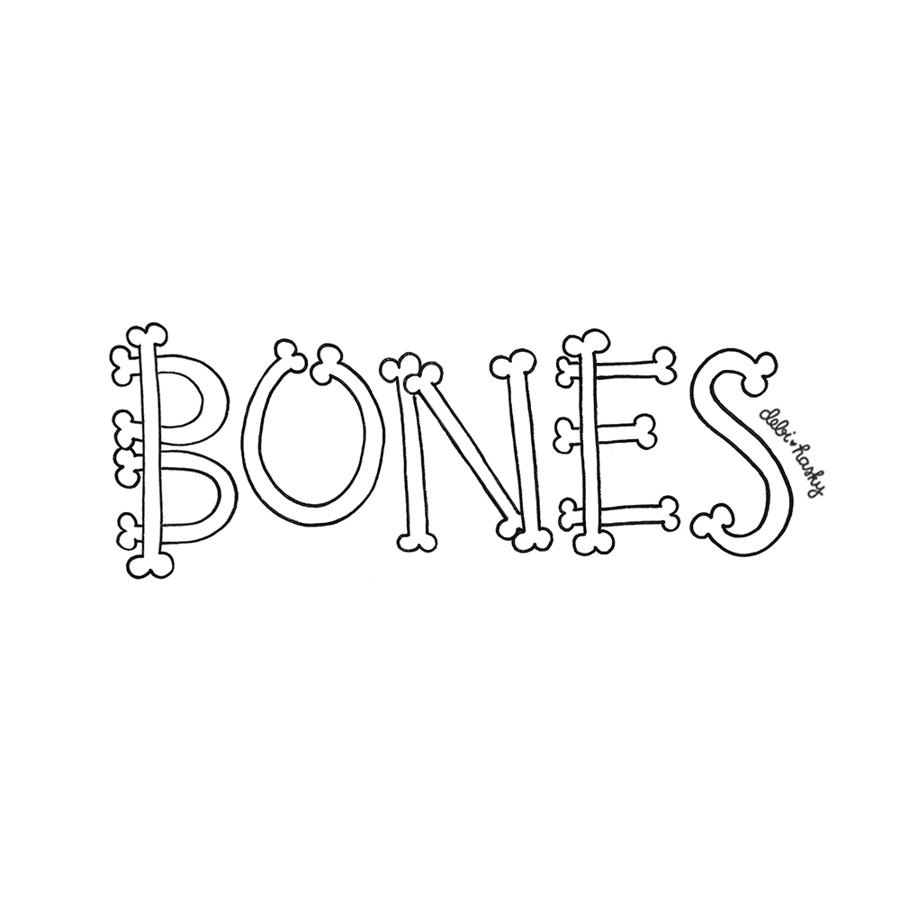 inktober day 16 bones.jpg