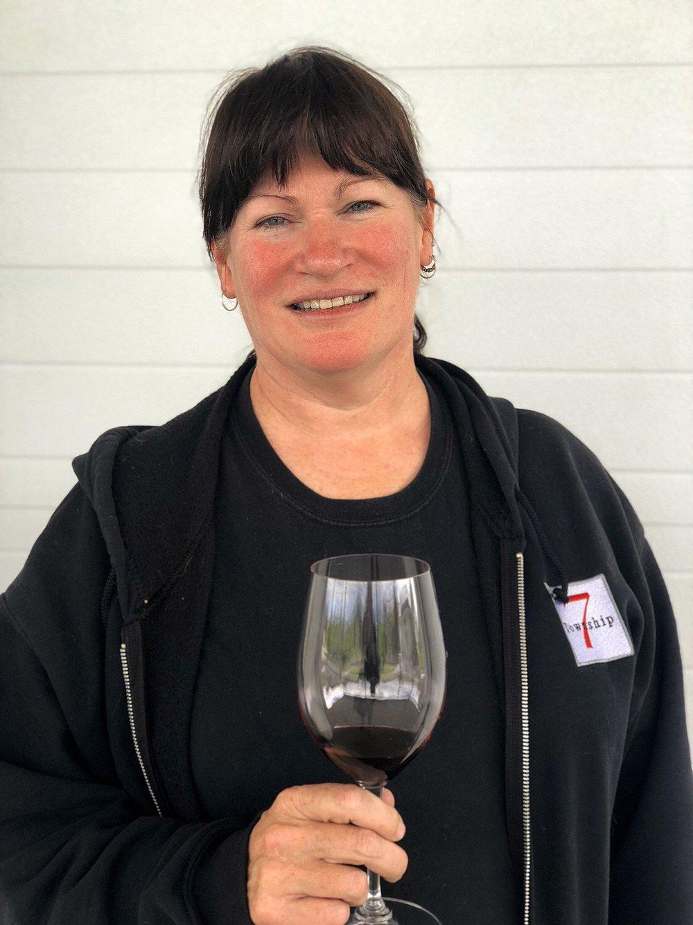 Mary McDermott, Township 7 Winery.