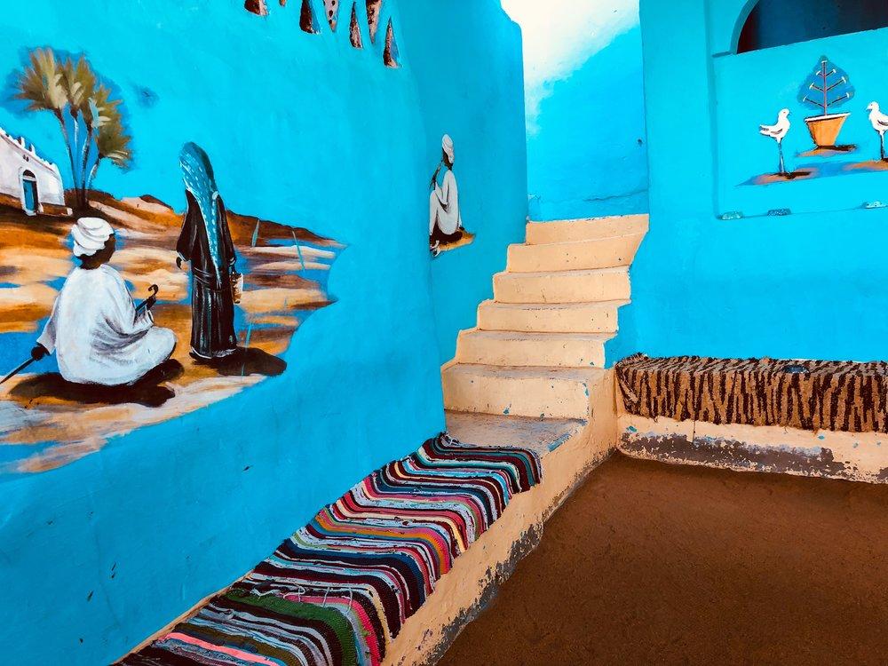 Nubian home in Aswan