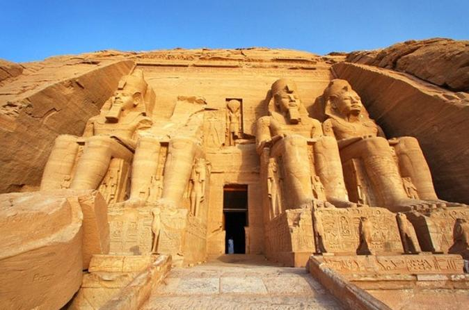 Abu Simbel in Nubia