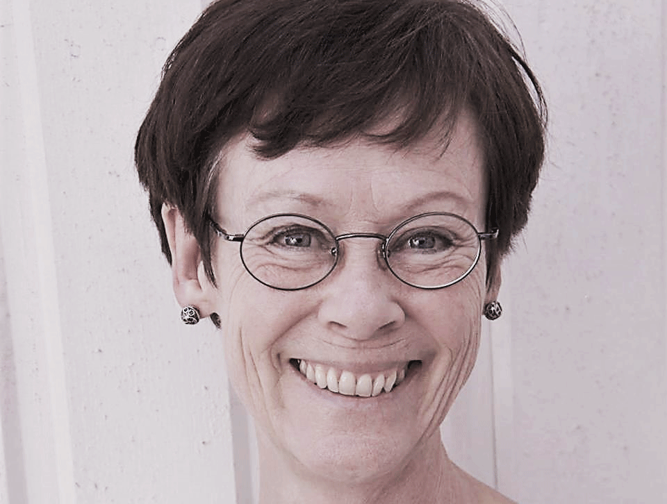 """Mia Lindberg - Mia Lindberg, studie- och karriärvägledare med fil. mag i pedagogik och 30 års erfarenhet av vägledning föreläste på temat """"Vägledning för okända och nyanlända"""" – en betraktelse kring det vägledande samtalet och berättelsens betydelse i möten med det främmande och okända."""