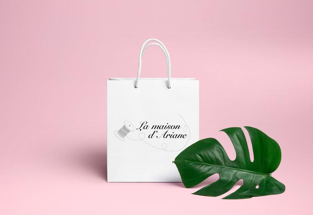 LA MAISON D'ARIANE - IDENTITE VISUELLE