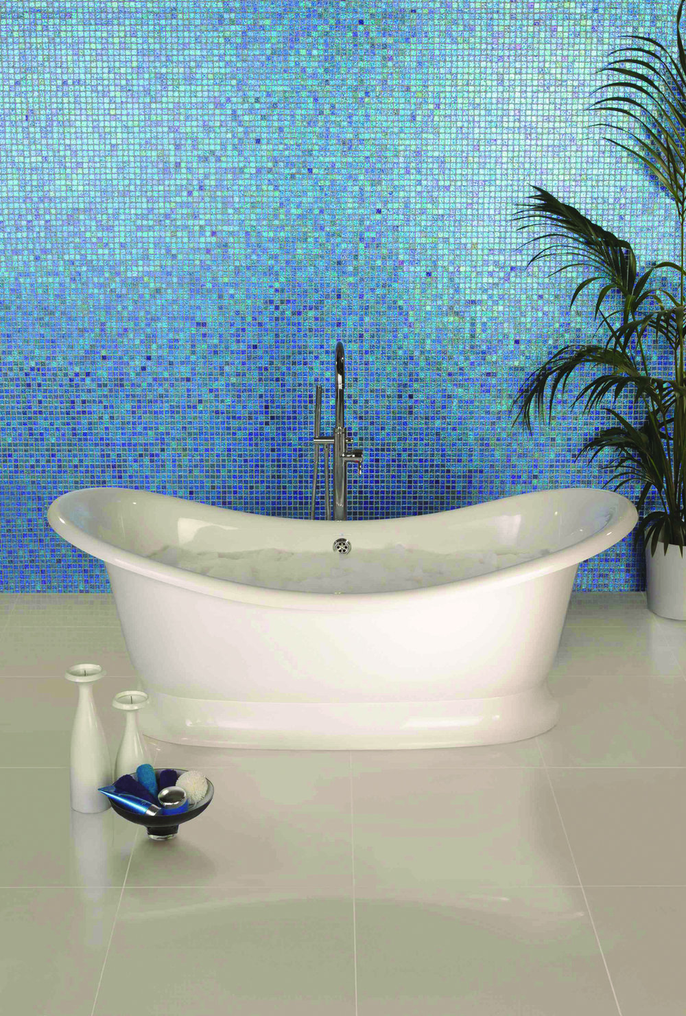 Crystal Blue Mosaics