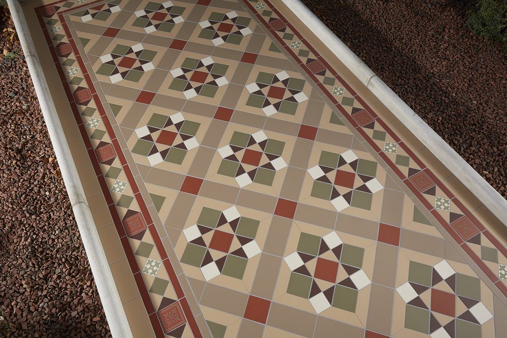 Bespoke Red Green Brown Dover White Old London and Holkham Dune