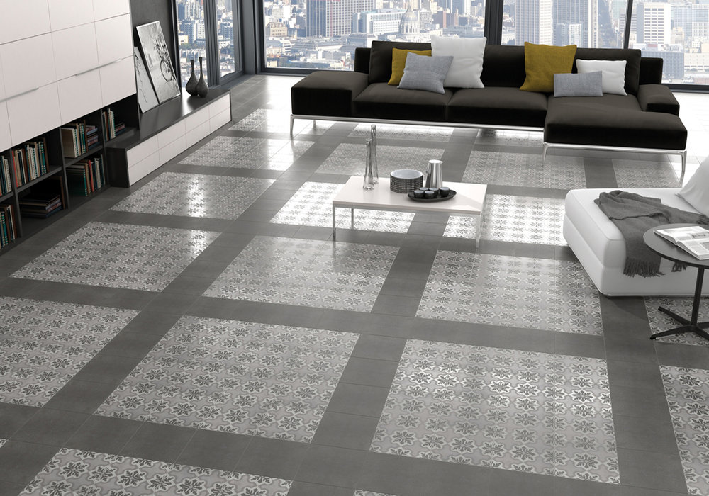 Vintage Ruzafa Glazed Patterned Porcelain Tiles