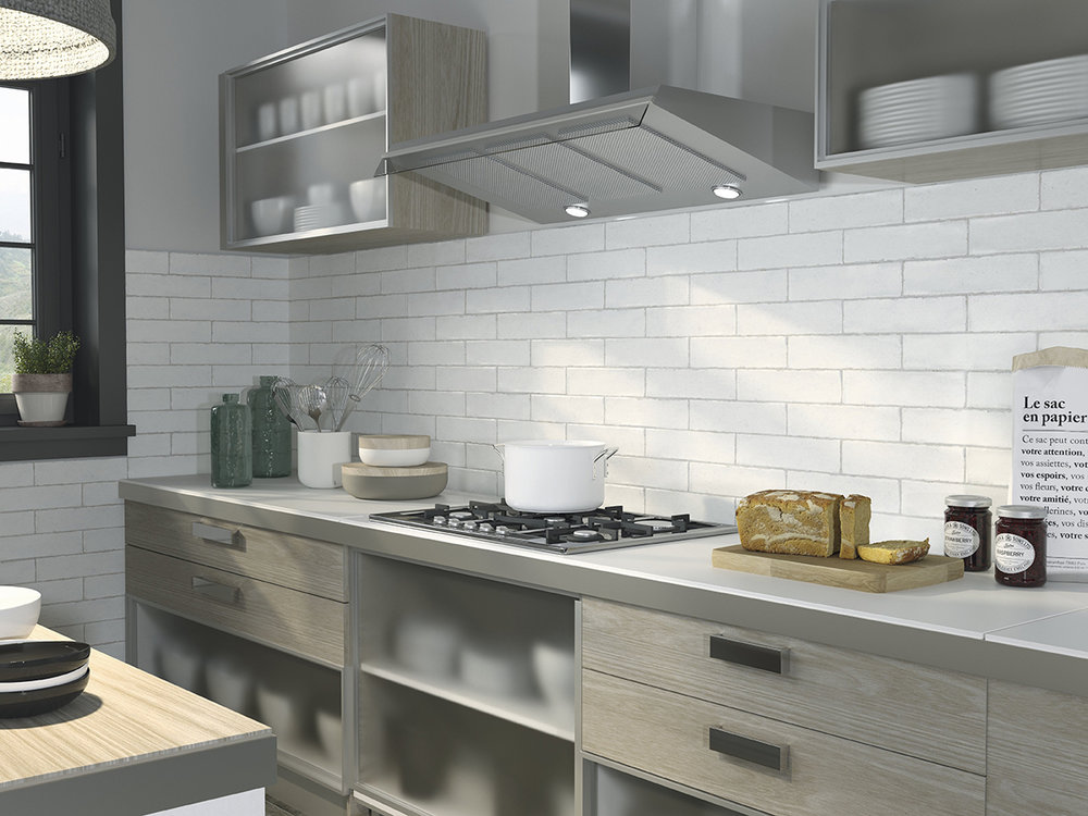 Calpe White Ceramic Wall Tiles