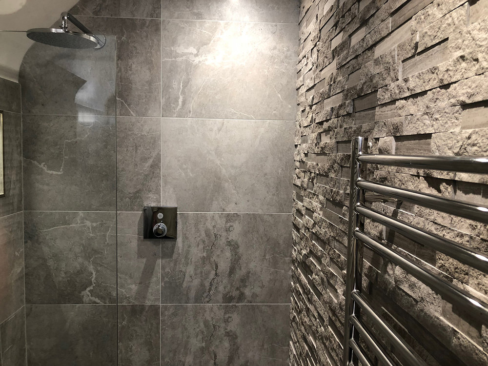 Porcelain Tiles and Split Face Tiles