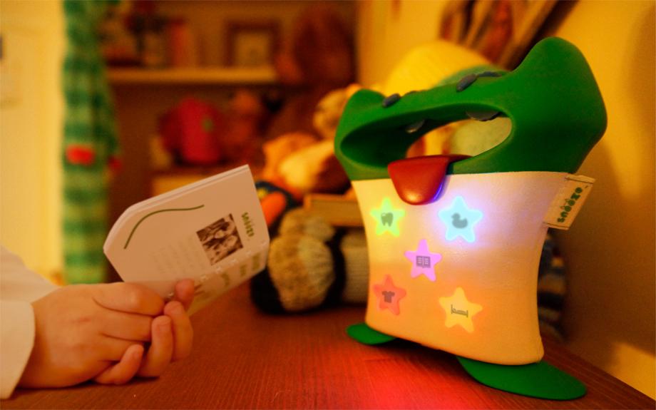 Children's bedtime routine - Product design