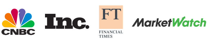 My work has been covered extensively in leading financial publications including CNBC and the Financial Times