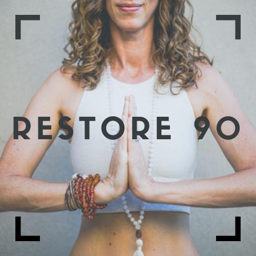 restore 90 hot yoga classes in Albuquerque