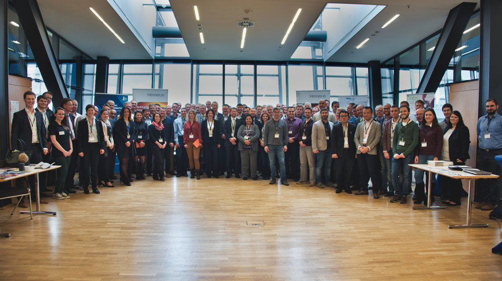 Participants of the first day of the 4th International Glass Fibre Symposium