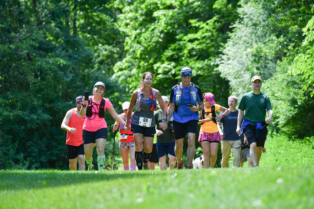 Friends, kindness and community. That is what trail running is all about.