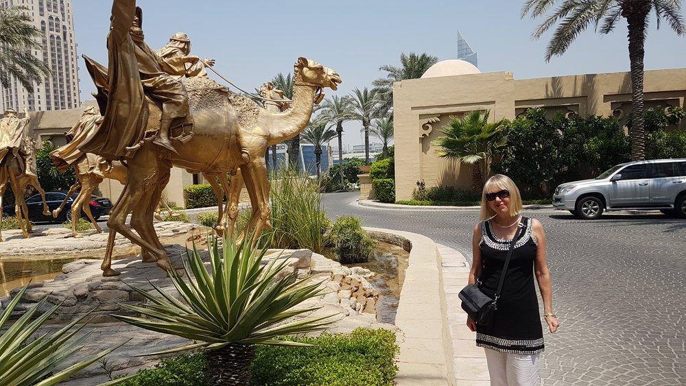 Elene Marsden Dubai at One&Only Royal Mirage Hotel