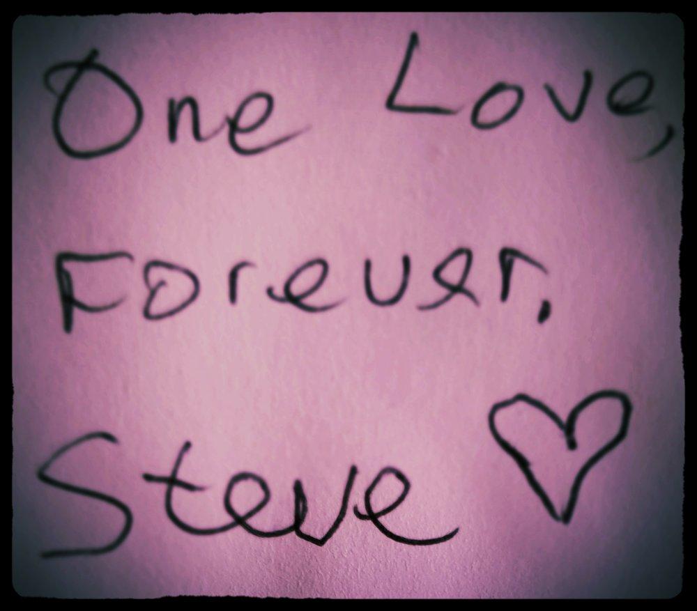Elene Marsden One Love Valentine Card