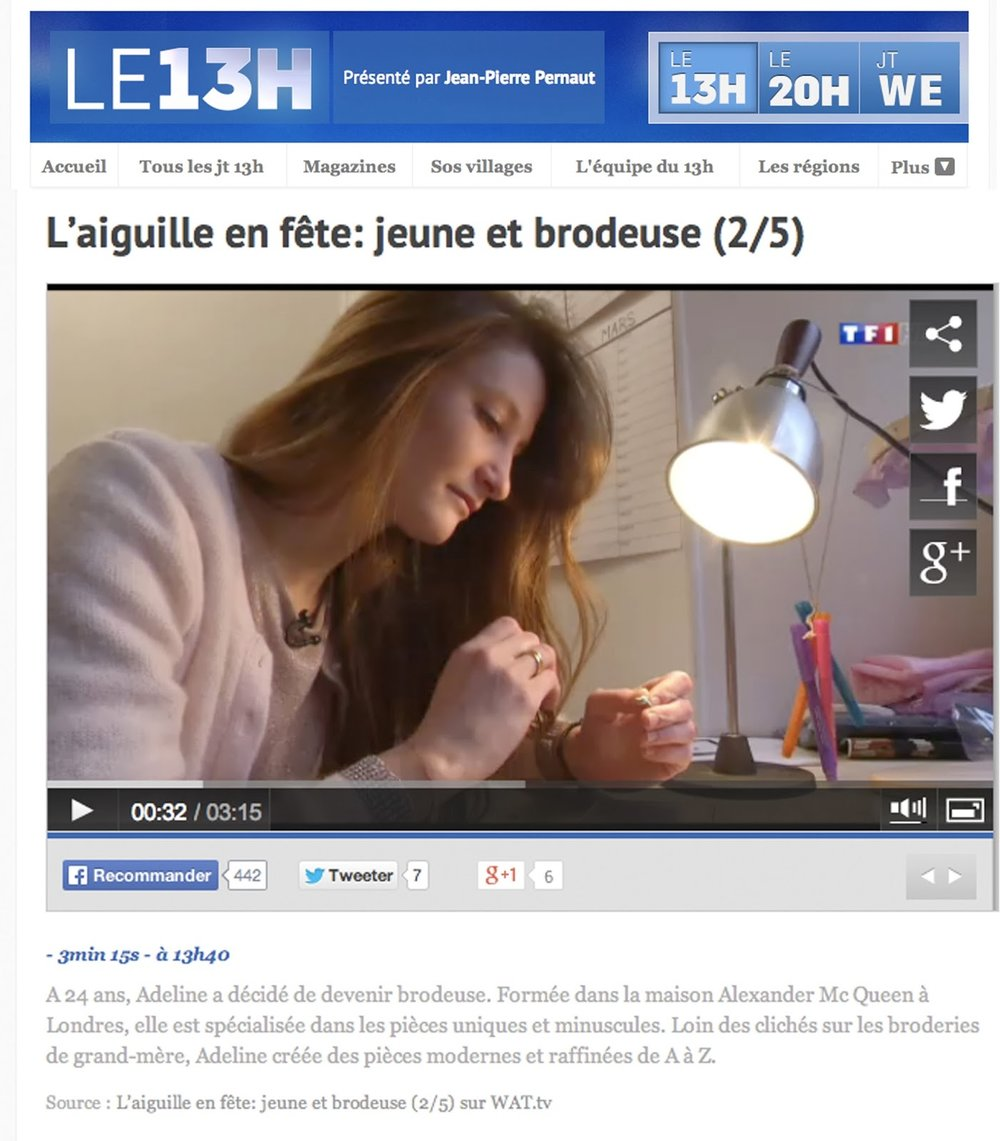 Journal TF1 - Reportage, JT 13H
