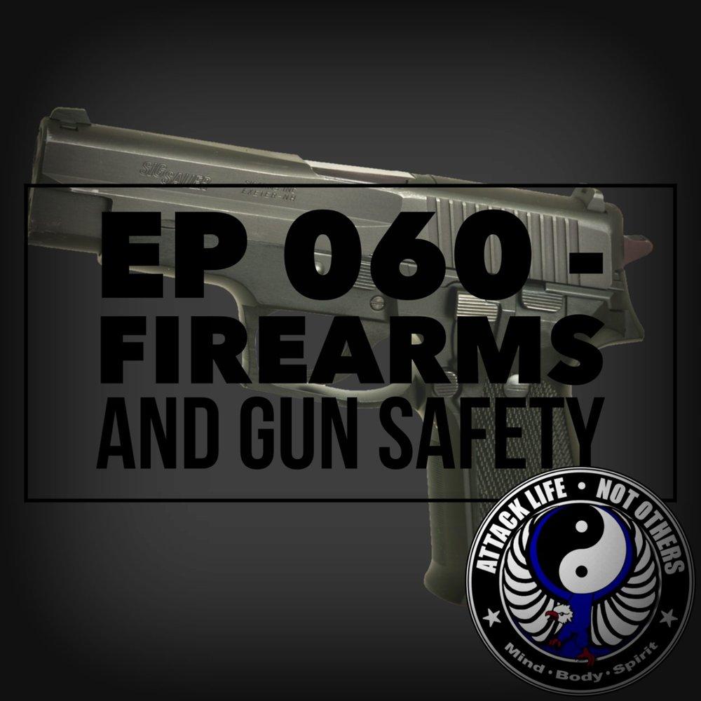 Ep 060 - Firearms and Gun Safety