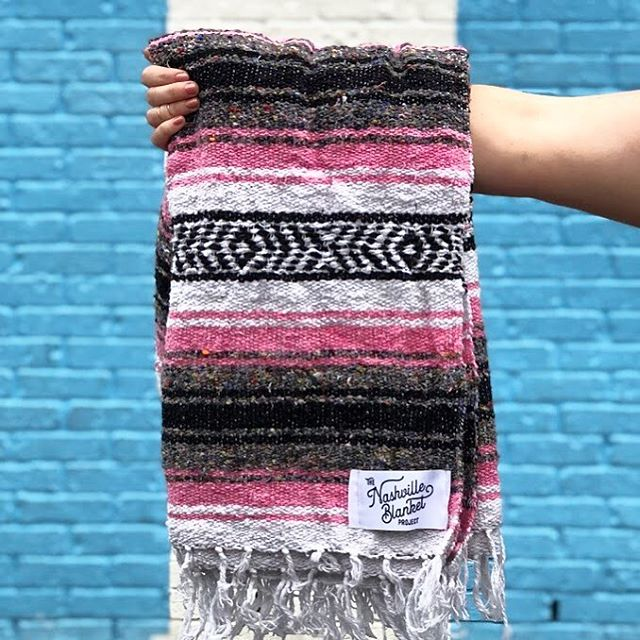 Still a few of these sweet pink blankets left! We'll have them with us at @313cowork Tuesday night for the Local Series pop-up. Starts at 7! Put it in your calendar and we'll see you there! ✌🏼