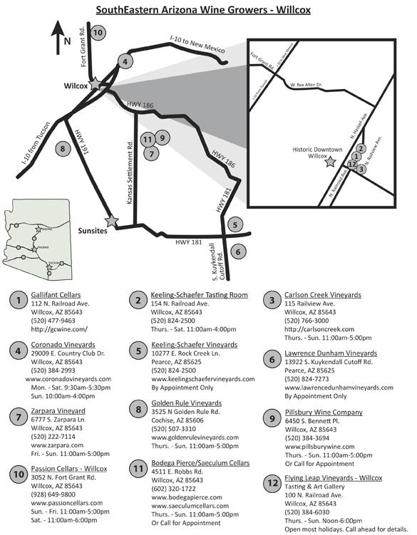 Wilcox Wine Trail