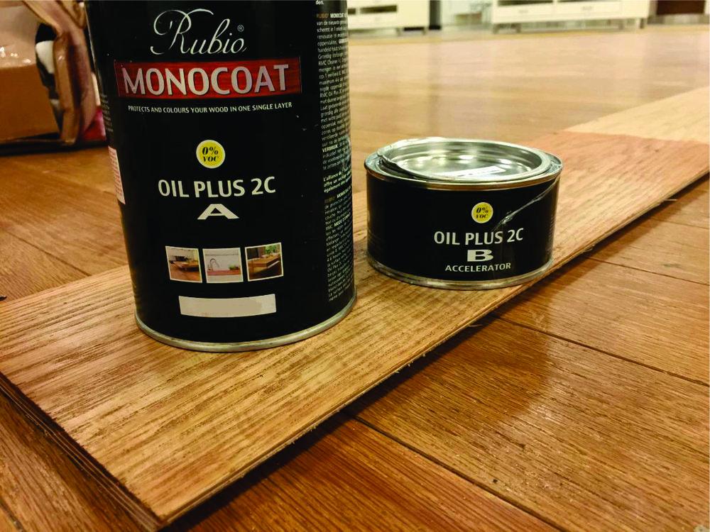 Custom oil mix by Thomas Benjamin