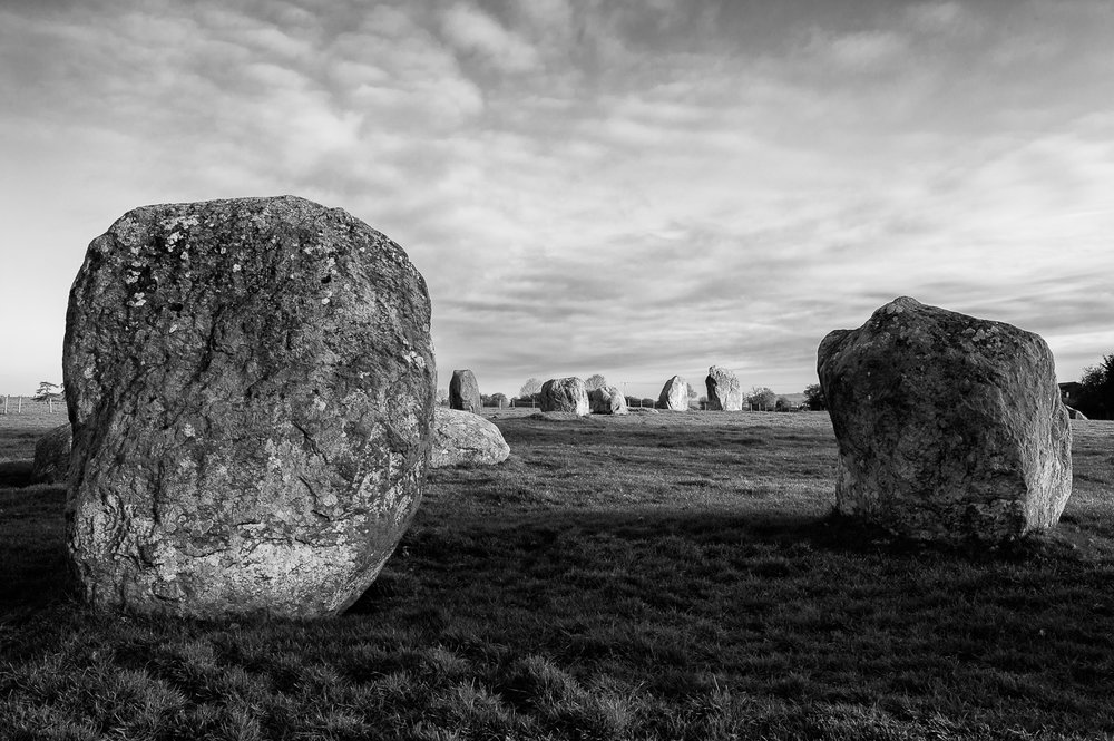 Stone circle - Long Meg and her Daughters, Cumbria 2016