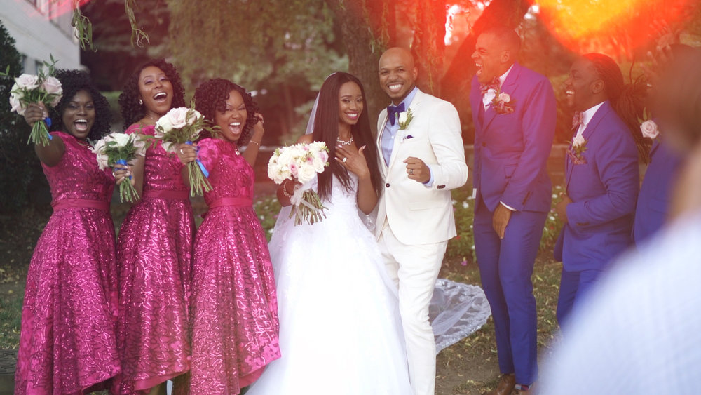 Hiring Quixotic was one of the best decisions we made for our wedding day. We love our film and we are grateful! - — Eniye + Demario
