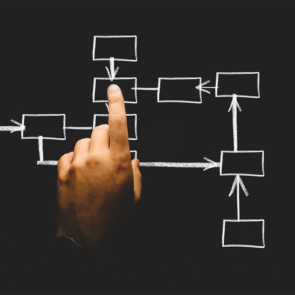 organizational flow chart