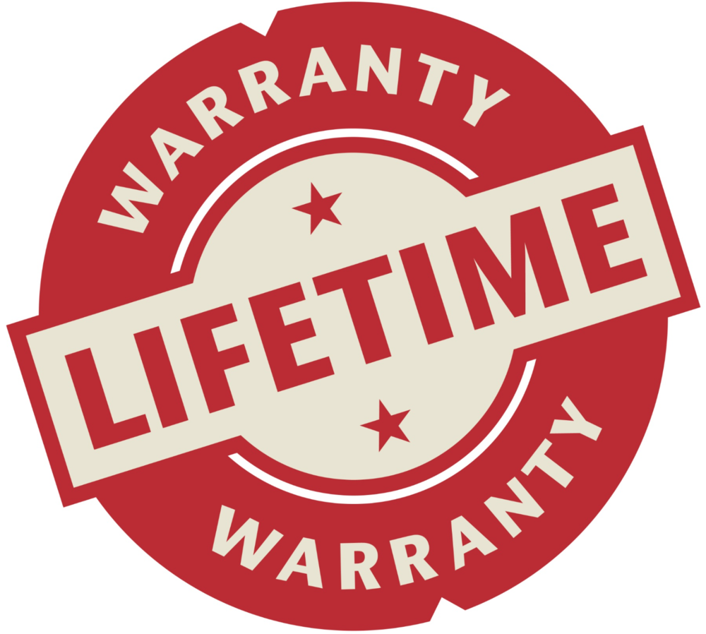 Warranty - We believe in our product, our process, and our installers so much we give you a transferable limited lifetime warranty on materials and installation.