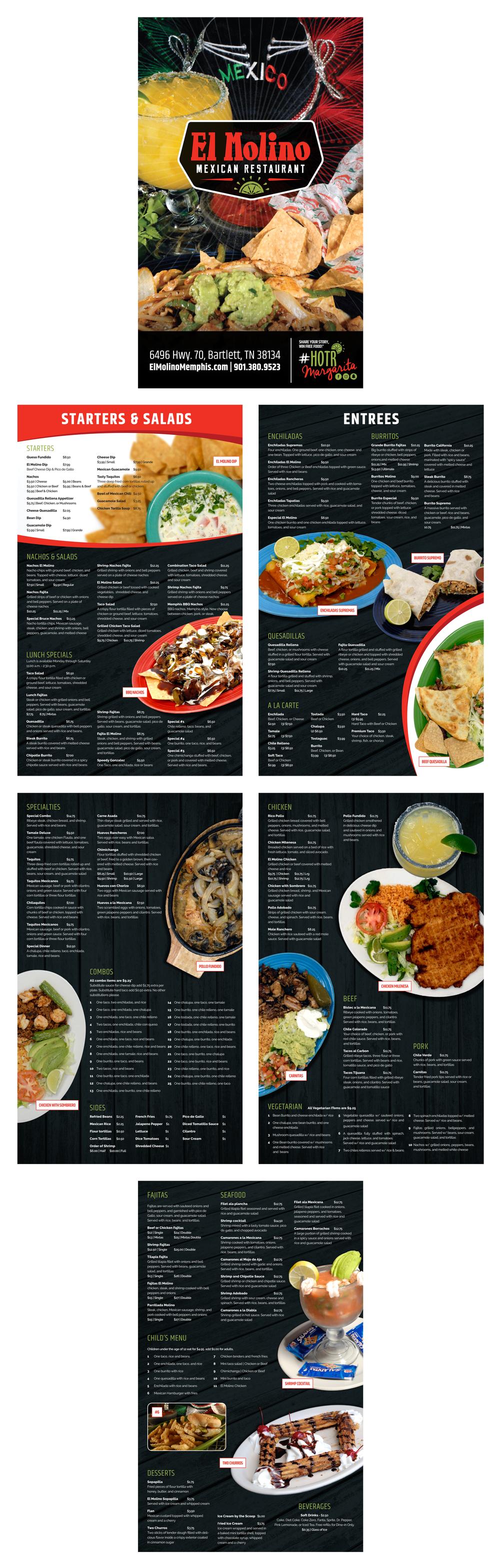 El-Molilno_Menu-Design_Food-Photography_Print-Design_Dreamcapture_Memphis-TN