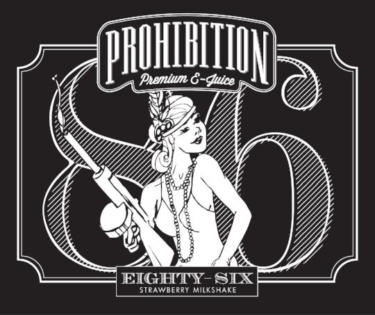 Prohibition-EJuice_Eighty-Six-Label_Packaging-Design_Print-Design_Dreamcapture_Memphis-TN