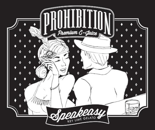 Prohibition-EJuice_Speakeasy-Label_Packaging-Design_Print-Design_Dreamcapture_Memphis-TN