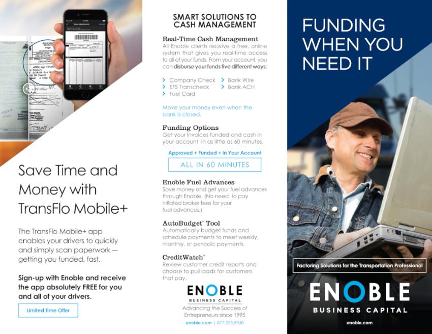 Enoble-Business-Capital_Trilfold-Brochure_Print-Design_Dreamcapture_Memphis-TN