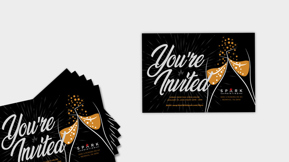 Spark-Printing_Open-House-Invitation_MockUp-Print-Design_Dreamcapture_Memphis-TN