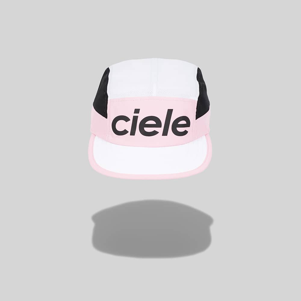 Ciele have such a strong design identity, that it's always so easy to pick them out. The prints underneath the peak make these some of the coolest caps to run in, not to mention the technical features in the material and construction. This limited edition Pink number is on our list.