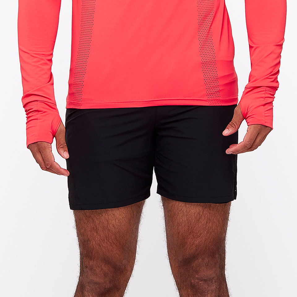 The Guys at Do Running sent me these for a test run and I haven't taken them off…so I won't be sending them back. Unlike regular running shorts, these cut a slim profile so you look pretty decent when you wear them, running or not. They're comfortable and lightweight, with perforation all the way up the sides for chill factor.