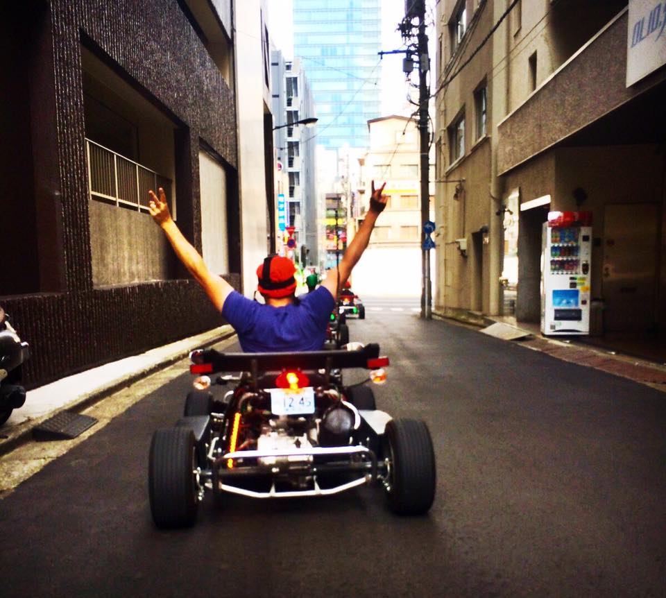 REAL LIFE MARIO KART IN TOKYO