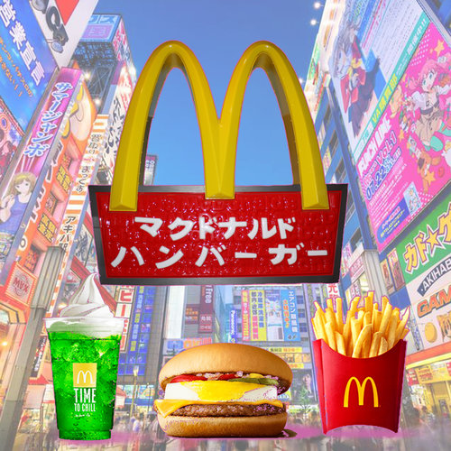 Trying McDonalds Tokyo
