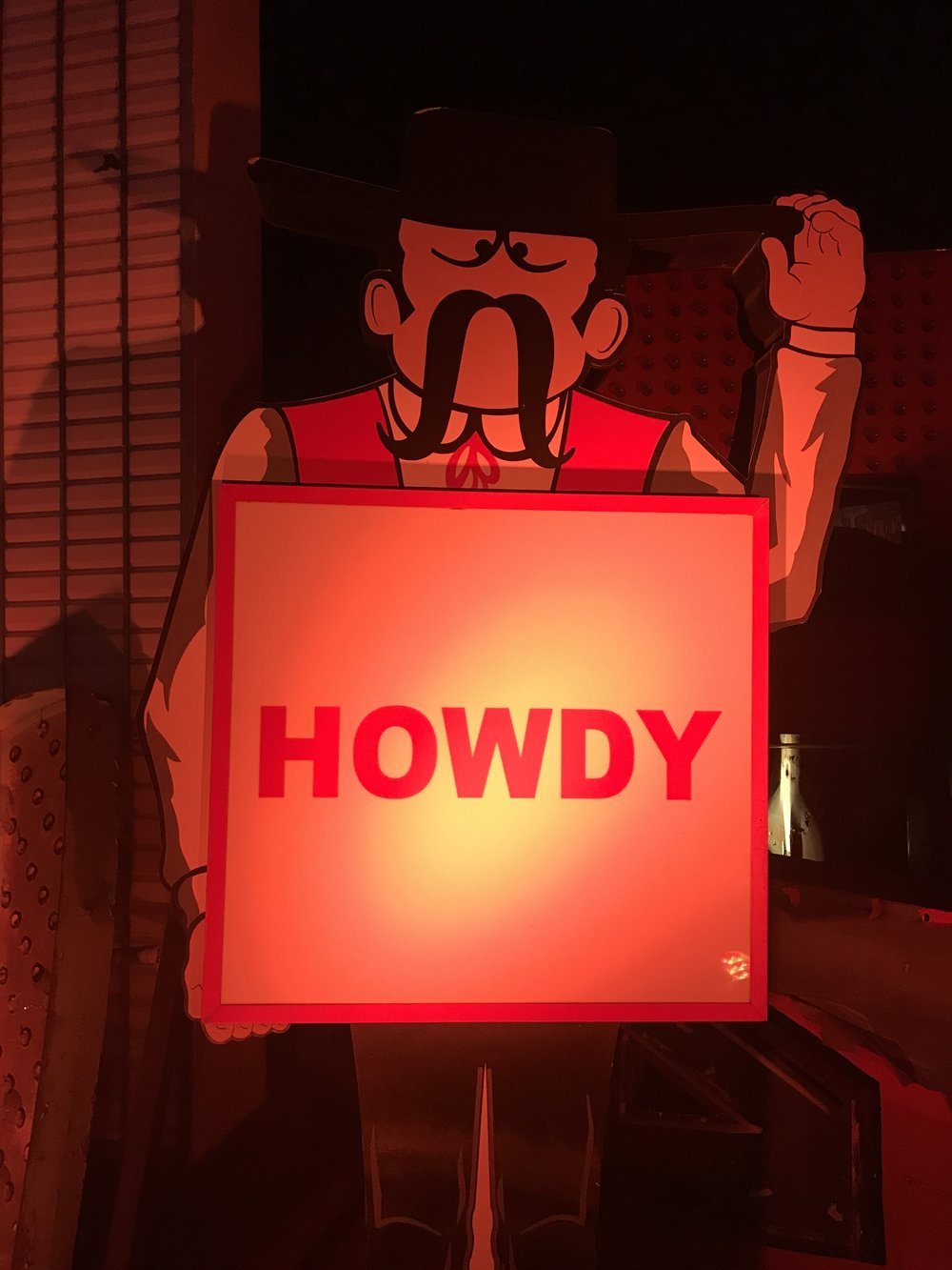 neon museum las vegas ghost town howdy cowboy