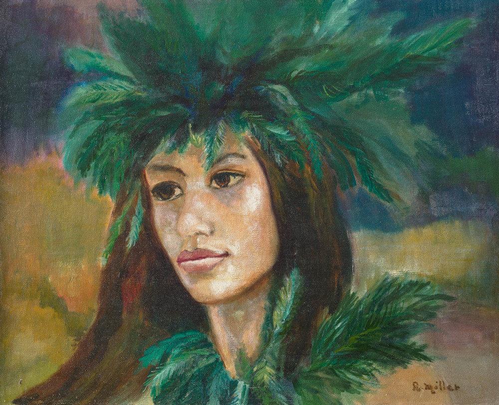 Hawaiian Maiden