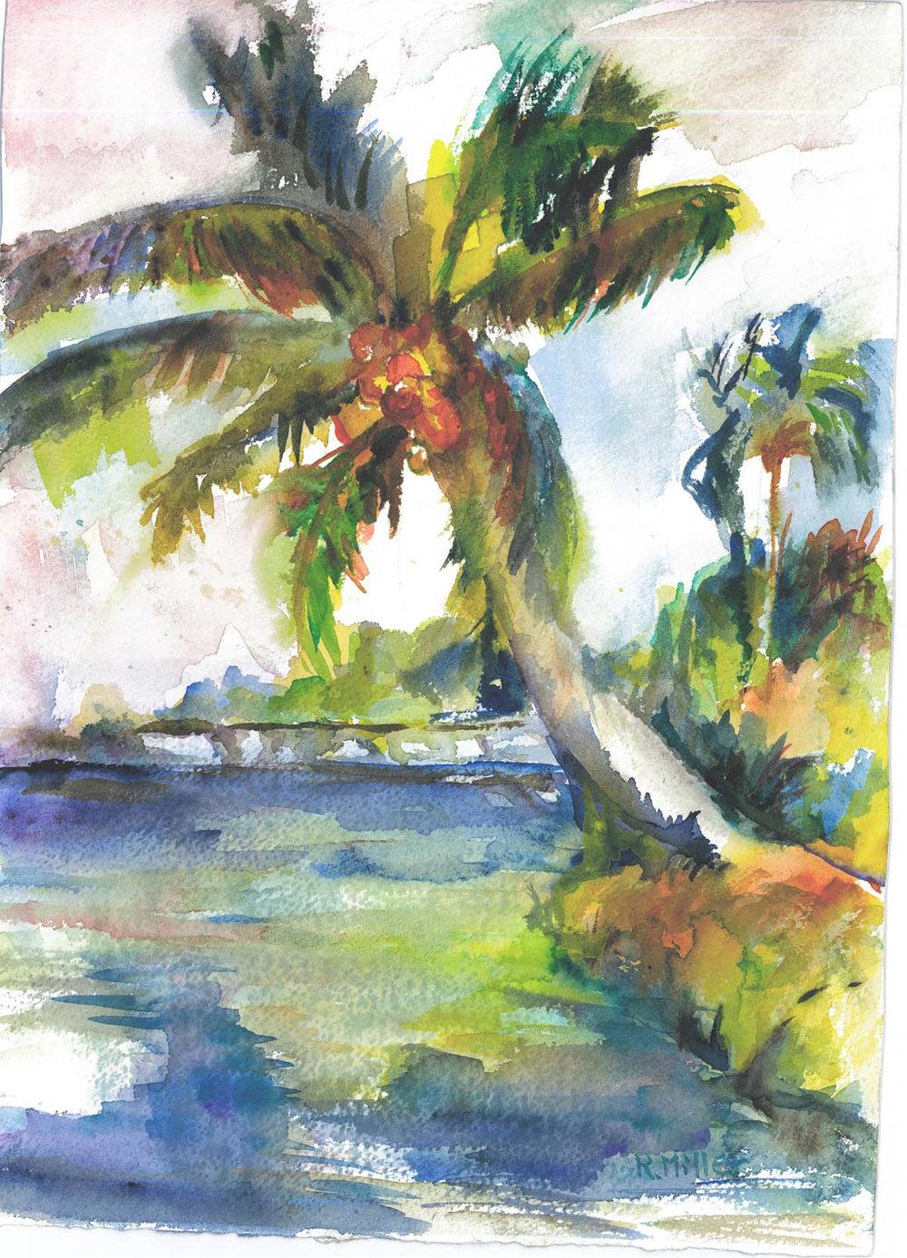 Palm Tree on Left