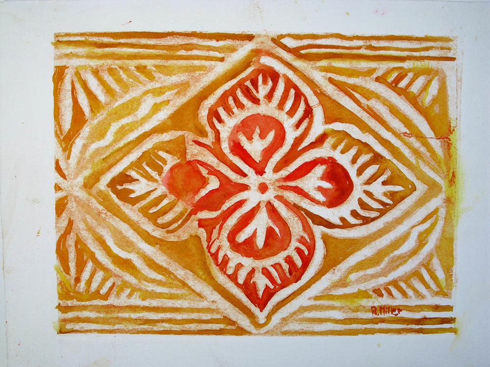 Flower Tapa
