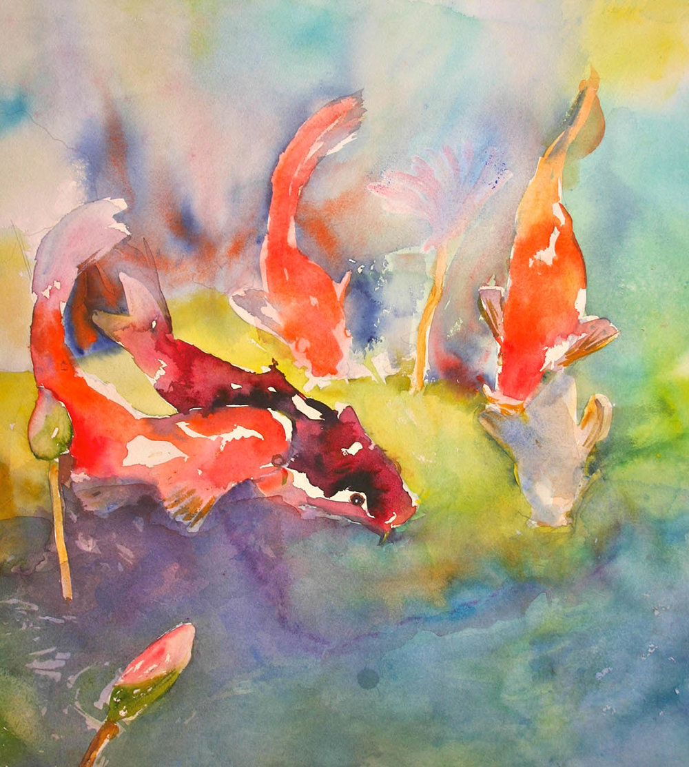 Five Koi Friends