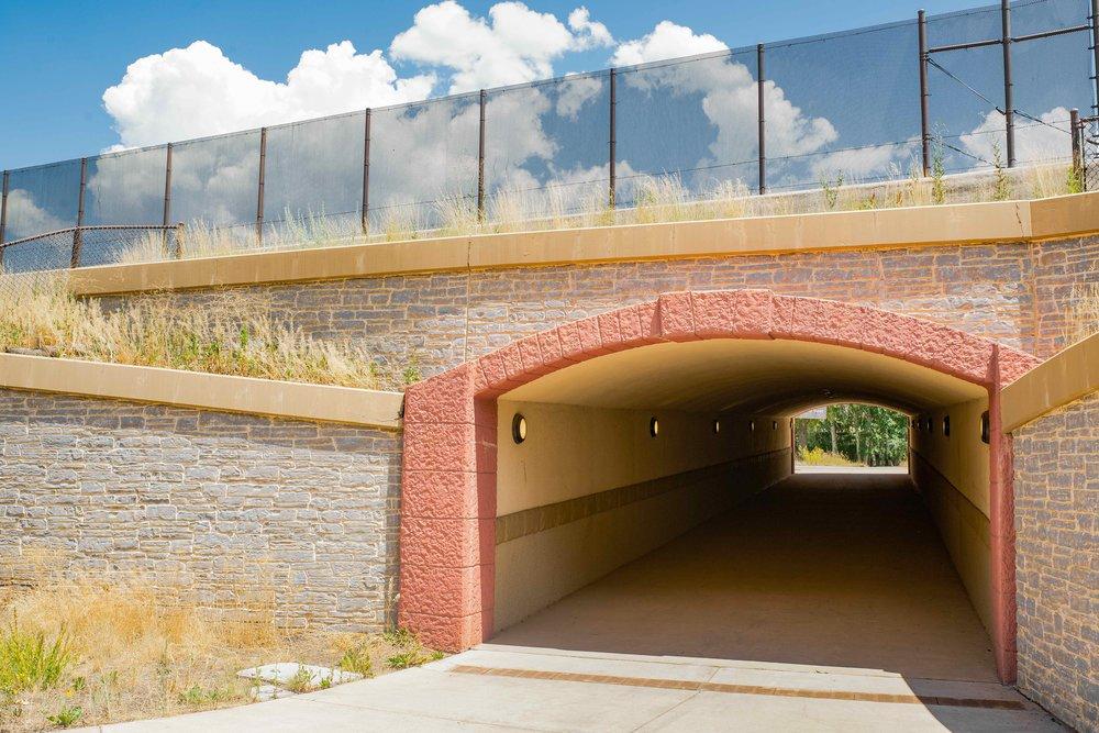 Highway 82 Pedestrian Crossing - Stan Clauson Landscape Architecture