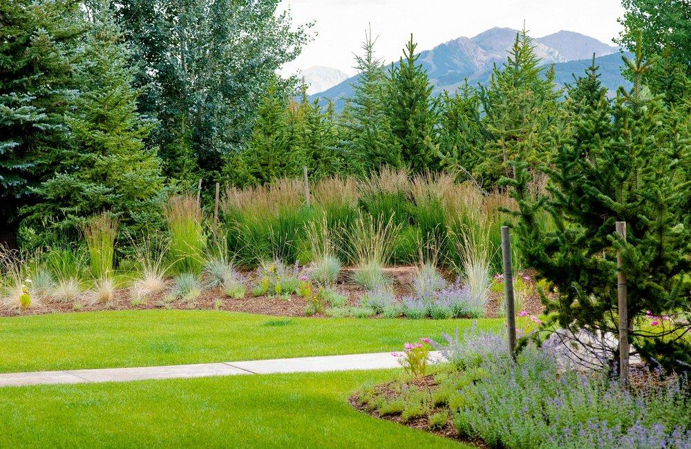 Aspen Luxury Residential Landscape Architecture