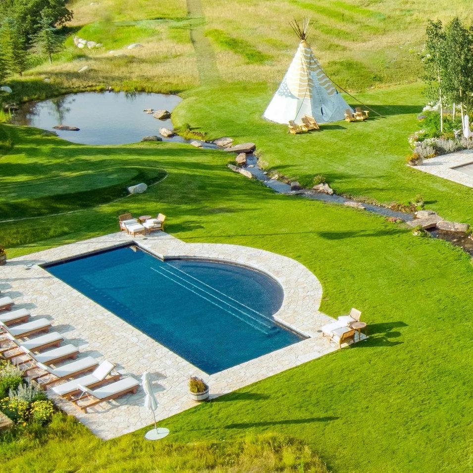 Aspen Resort Landscape Construction