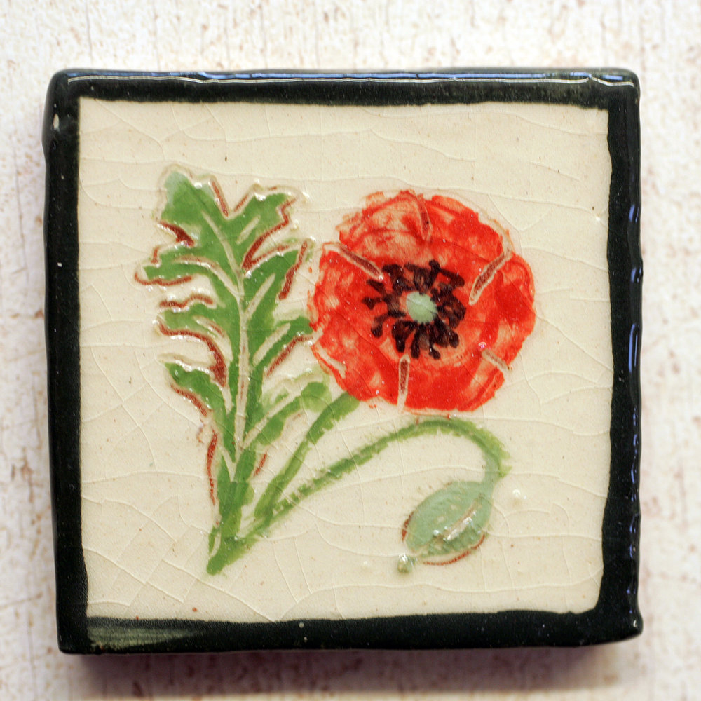 Wild flowers and insects - Our range of wildflowers and insects come 2″ size but we also make them on a 4″ format. You can put in requests…