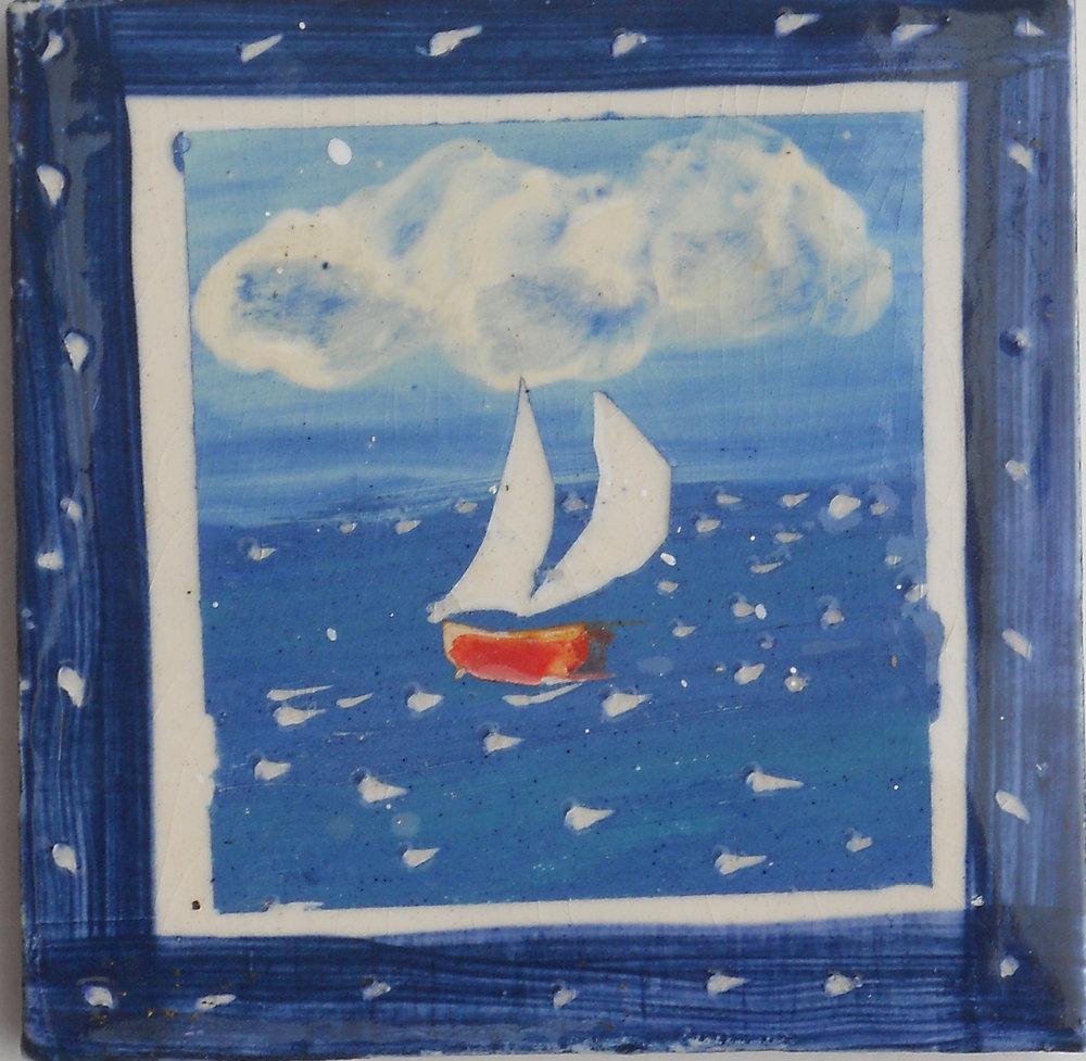 Sea shanty sailing boat
