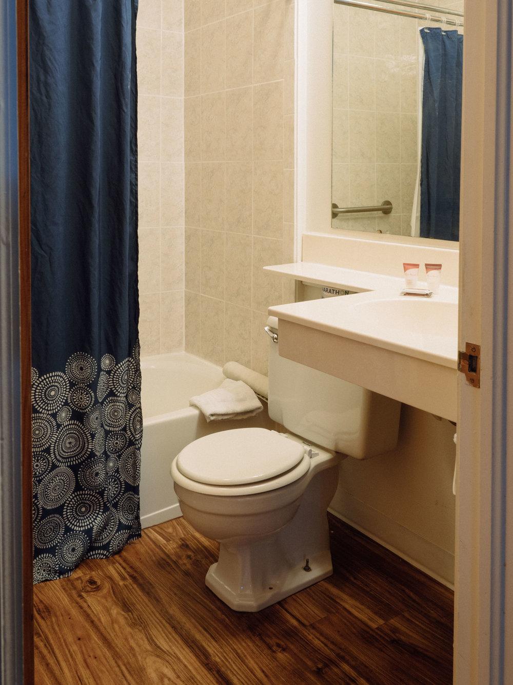 Bathroom, 2 Queen Room